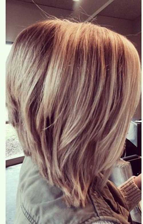haircut Graduated hairstyle bob