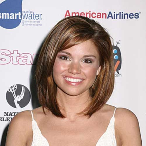 Long Bob for Round Face-13