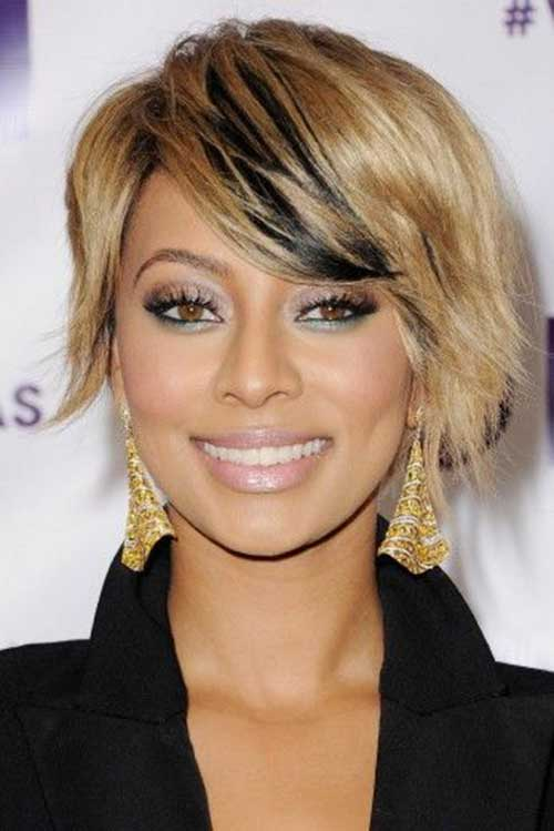 Superb Pretty Short Bob Hairstyles With Side Swept Bangs Bob Hairstyles Hairstyles For Women Draintrainus