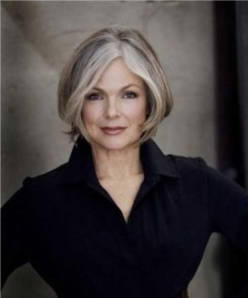 Bob Haircuts for Older Women-18