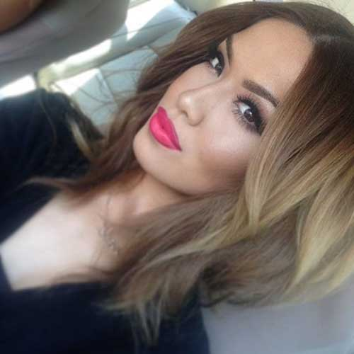 Ash Blonde Ombre Bob Hairstyles