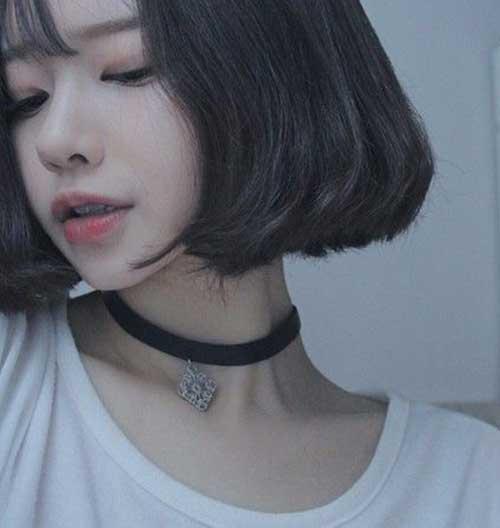 Asian Blunt Bob Cut