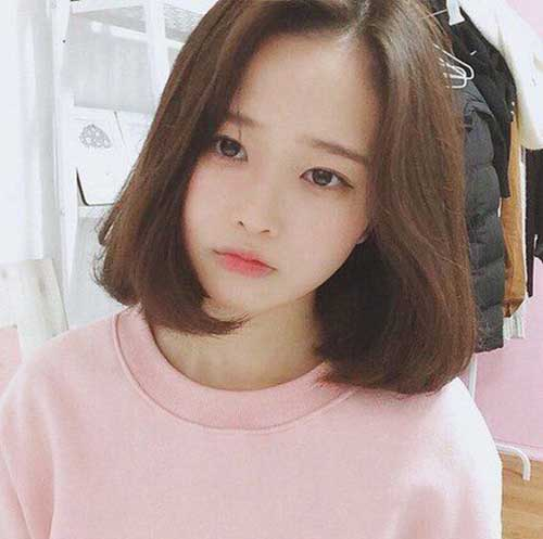Stylish Asian Bob Hairstyle
