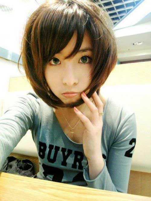 Asian Girls Bob Hairstyles