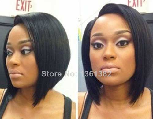Black Women Straight Bob Hairstyles