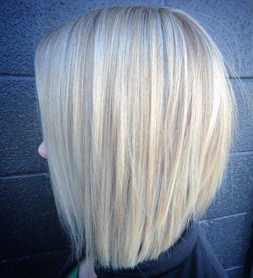 Modern Blonde Bob Cut