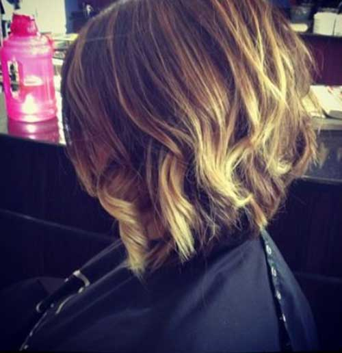 Best Blonde Ombre Bob Hairstyles