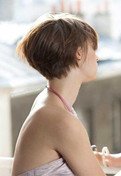 F'ne Bob Hair Back View for Women