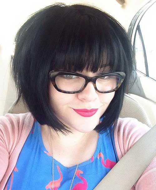Cute Bob Hair with Bangs