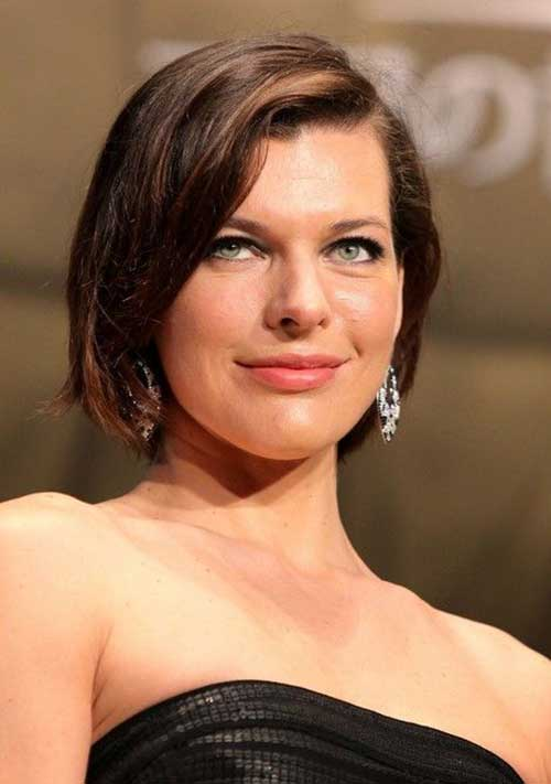 10 Bob Cut Hairstyles For Oval Faces | Bob Hairstyles 2015 - Short ...