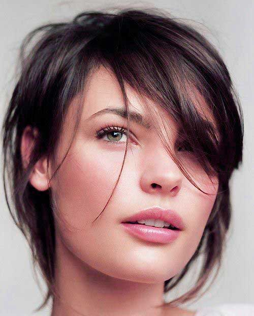 Miraculous 10 Bob Cut Hairstyles For Oval Faces Bob Hairstyles 2015 Short Short Hairstyles Gunalazisus