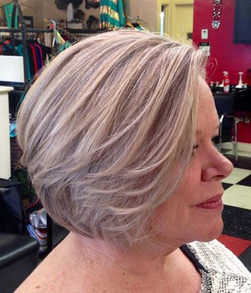 Bob Hair for Older Women