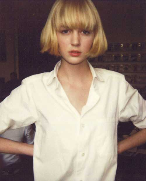 Chinese Style Blonde Bob Cuts