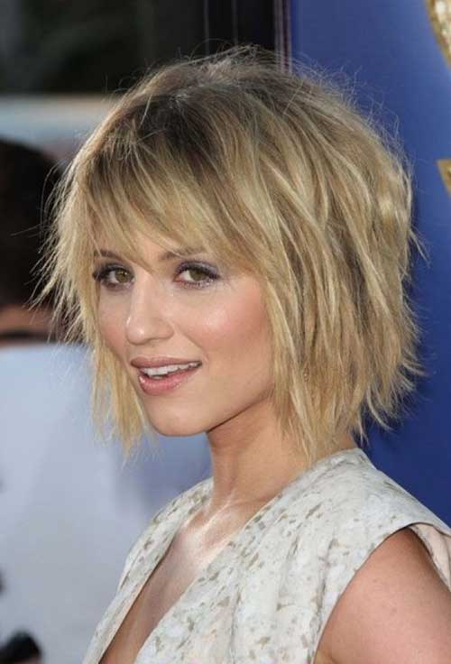 Choppy Layered Hairstyle Bob Cut