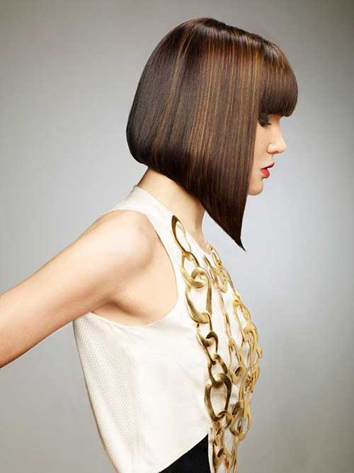 Cool Angular Bob Hairstyle