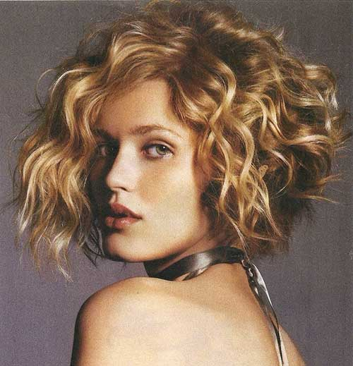 Curly Bob Haircuts Images