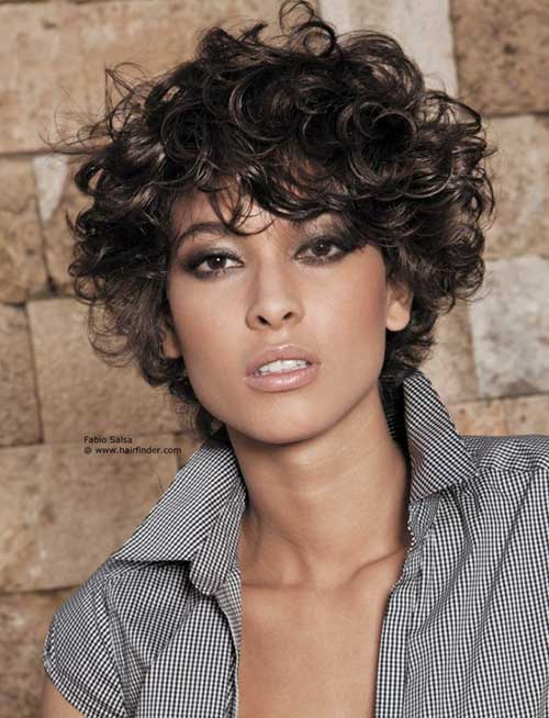 Best Curly Bob Hairstyles For Oval Face