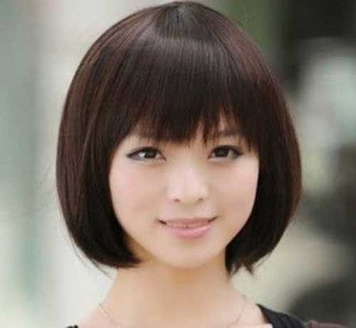 Cute Chinese Bob Cuts