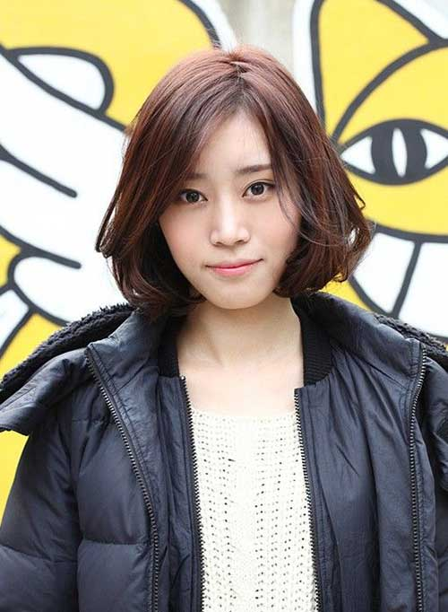 Cute Korean Bob Hairstyles