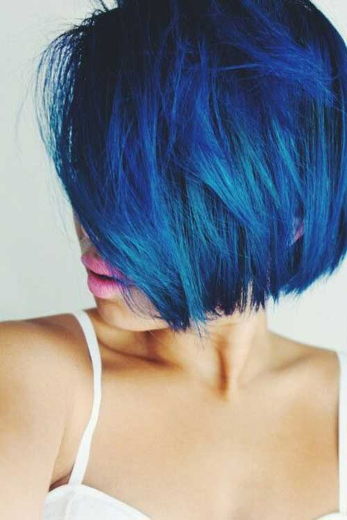 Different Blue Bob Styles