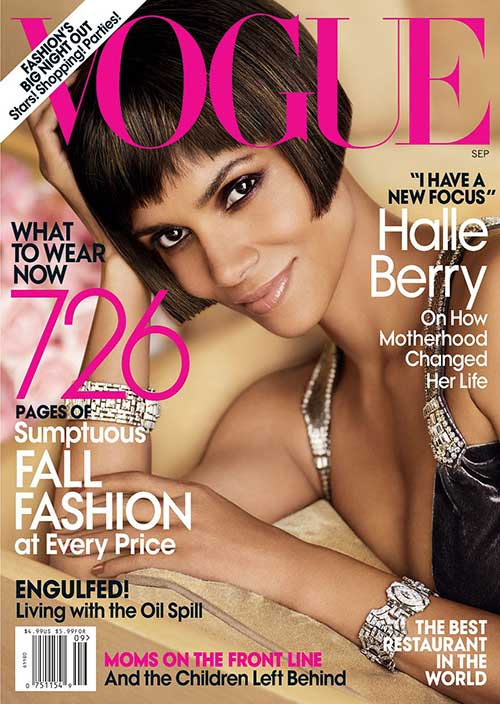 Halle Berry Blunt Bob Hairstyles