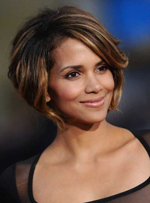 Halle Berry Short Bob Hair