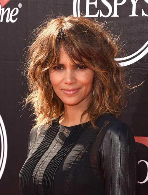 Halle Berry Long Bob Hairstyles