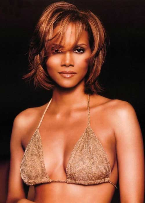 Halle Berry Layered Bob Hairstyles