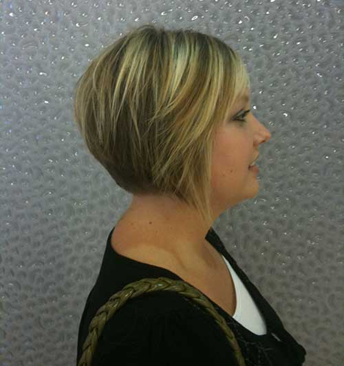 Images Of Short Layered Inverted Bobs