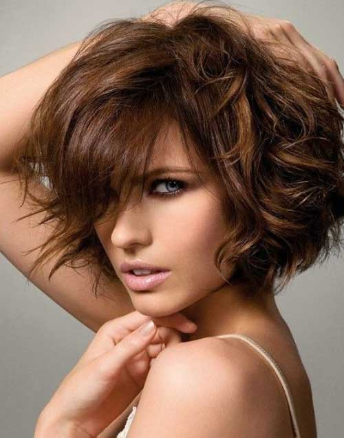 Images Short Thick Bob Hairstyles