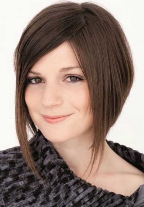 Inverted Straight Bob Hair
