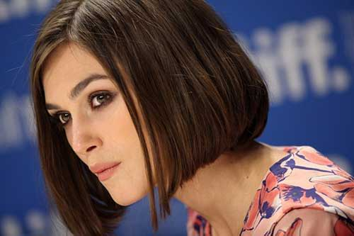 Keira Knightley Straight Bob Hair