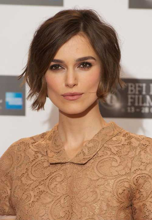 Best Kiera Knightley Short Bob