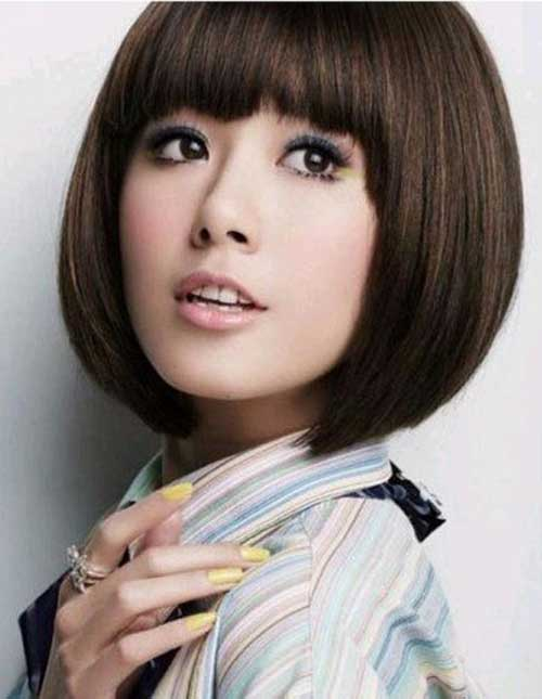 Korean Blunt Bob Cut Pics