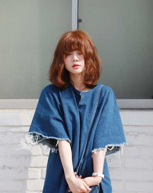 Korean Medium Bob Hairstyles