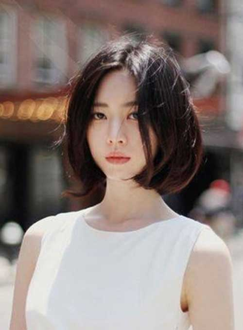 Korean Style Bob Hair Cut
