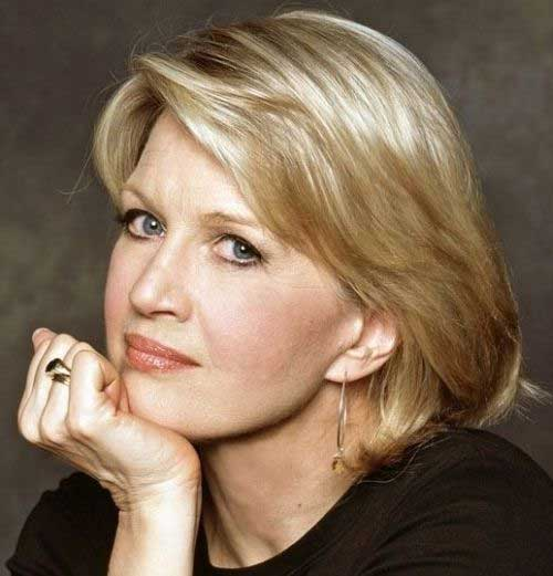 Best Layered Blonde Bob Hairstyles for Older Women
