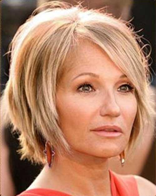 Layered Bob Hair Cuts for Older Women