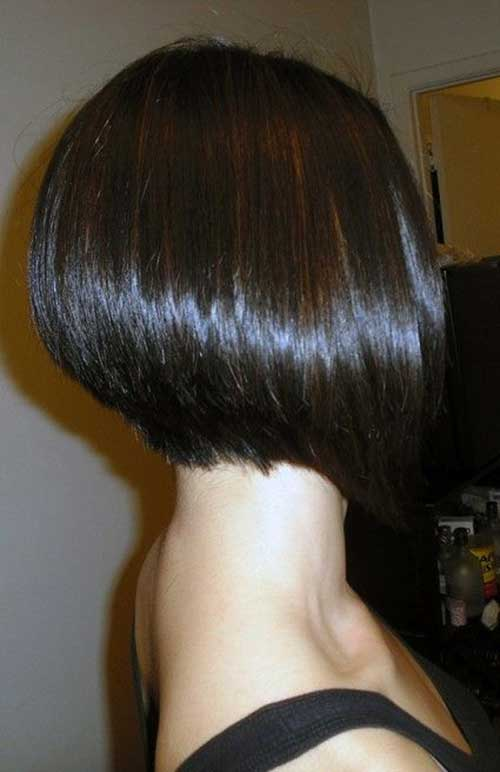 Modern Inverted Style Bob Hair Cuts