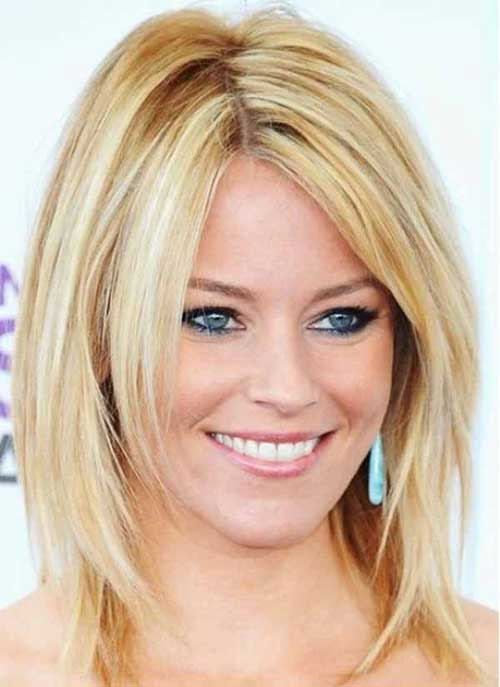 Modern Medium Layered Bob Hairstyles