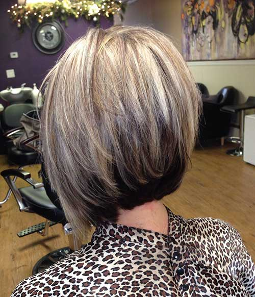 New Style Stacked Bob Haircuts