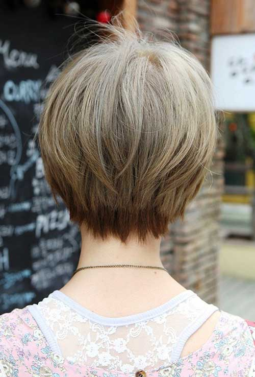 Pictures Of Bobbed Hairstyles Back View