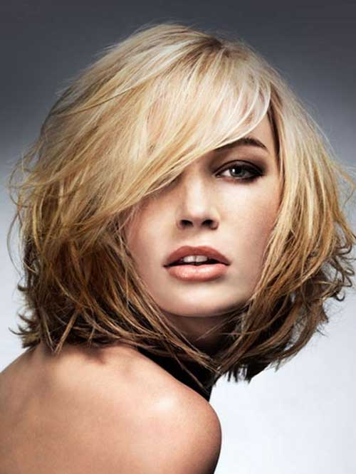 Pictures Of Layered Medium Bob Haircuts