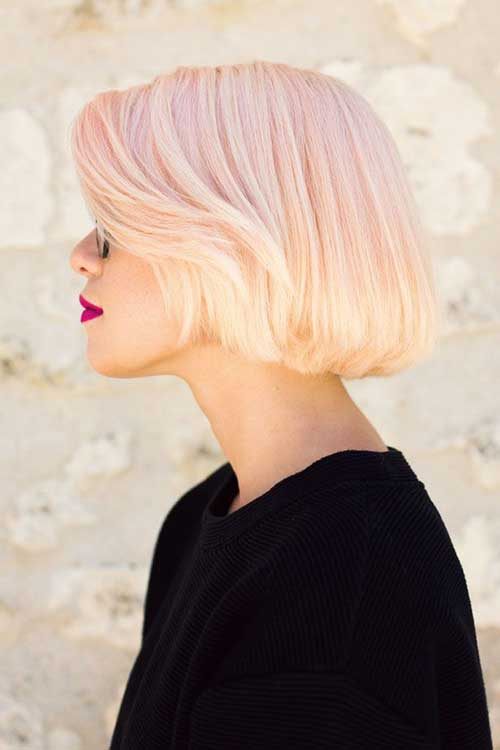 Best Pink Blonde Bob Hairstyles for Women