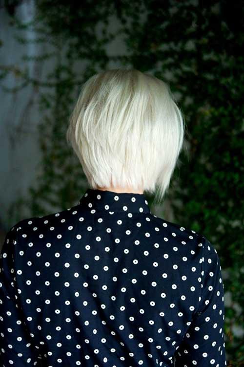 Platinum Blonde Bob Hairstyles Pics