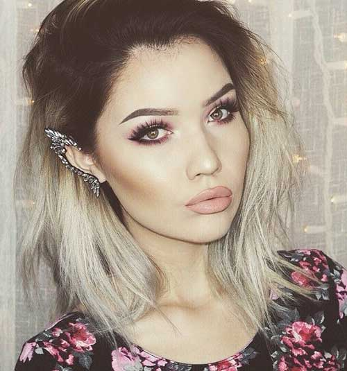 20 Best Blonde Ombre Bob Bob Hairstyles 2018 Short Hairstyles