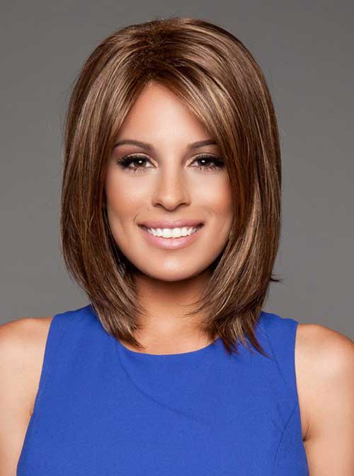 Best Razored Long Bob with Layers