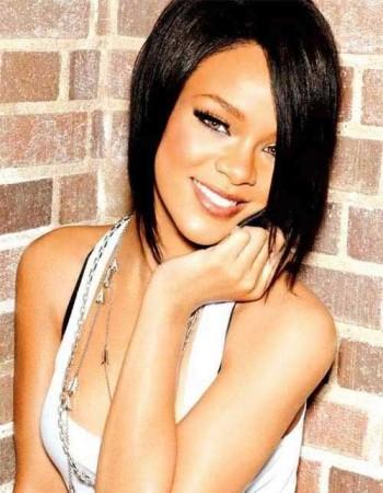 Rihanna Nice Bob Haircut