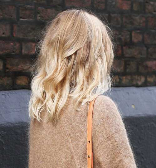 Sand Blonde Ombre Bob Hairstyles
