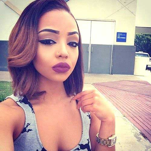 20 Short Bob Hairstyles Black Women